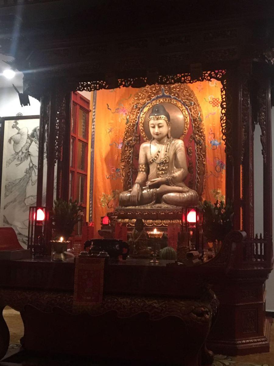 Templo do Buda de Jade - 玉佛禅寺  Yùfó Chán Sì.