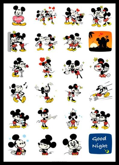 Stickers-mickey-minnie-download